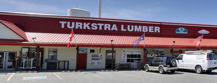 Turkstra Lumber Dunnville. Decking, windows, doors, hardware, lumber, sidng, pole barns, building materials, tools, estimating and window and doors installation services.